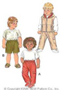 Kwik-Sew Pattern – Pants, Shorts & Vest