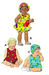 Kwik-Sew Pattern – Sundress, Bloomers, Shortalls & Hats