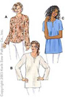 Kwik-Sew Pattern – Top & Tunics