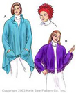 Kwik-Sew Pattern – Jacket, Shawl & Hat