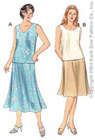 Kwik-Sew Pattern – Tops & Skirts