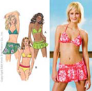 Kwik-Sew Pattern – Swimsuit and Wrap