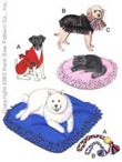 Kwik-Sew Pattern – Pet Pillows, Jackets & Toys
