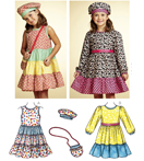 Kwik-Sew Pattern – Dresses, Hat & Bag
