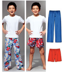 Kwik-Sew Pattern – Sleep Pants & Shorts