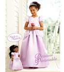 Kwik-Sew Pattern – Princess Periwinkle Girls' & Doll Dresses