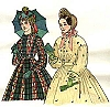 Past Pattern 1850-1867 Gathered and Fitted Bodices Sewing Pattern