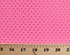 Pink Sequins on Pink Nylon/Lycra Blend Fabric by the Yard (pinksequins-pink)