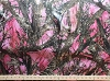 Satin True Timber Bridal Pink MC2 Camo Camouflage Satin Fabric Print by the Yard (PP1011-593)