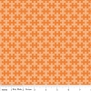 Cotton Puzzle Pieces of Hope Autism Awareness Orange Jigsaw Puzzles Cotton Fabric Print (C3063-Orange)