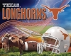 University of Texas® Longhorns® Stadium College Fleece Fabric Panel