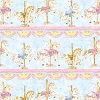 Sold Out - Cotton Carousel Dreams Repeating Stripe Multi (4 Strips Per Yard) Cotton Fabric Print by the yard (Q1810-42319-435)