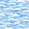 Wild at Heart Sky Texture Clouds Cotton Fabric Print by the Yard (Q1860-12605-441)