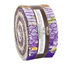 Jelly Roll Beckford Terrace Wisteria Colorstory by Hyun Joo Lee for RK Roses Garden Floral 2.5