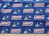New York Giants NFL Pro Football Cotton Fabric Print