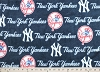 Fleece (not for masks) New York Yankees Logo MLB Baseball Fleece Fabric Print by the yard