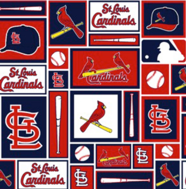 outlet store b5242 88528 Cotton St Louis Cardinals MLB Baseball Sports Team Cotton Fabric ...
