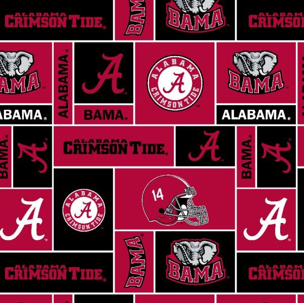 Alabama Crimson Tide Mixed Print Scarf