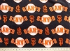 Micro Plush San Francisco Giants MLB Baseball Sports Team Mink-Like Cuddle Feel Fabric Print by the Yard (sc6585bf)