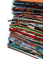Quilter's Cotton Fabric Scraps - Sold by the 3 lbs - Scrap Bag Bolt End Pieces Remnants Assorted Quality Cotton Novelty Fabrics - Great for Masks - for Sewing Scrappy Quilting Stash, Scrap Quilts, I Spy Quilts, Applique, and More! Bag of Scraps (M492.03