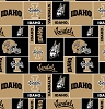 University of Idaho™ Vandals™ College Fleece Fabric Print