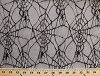 Spider Web Netting Lace Black Fabric by the Yard (spiderweb-netting)