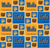 Cotton University UCLA Bruins College Team Cotton Fabric Print (ucla-020)