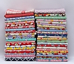 10 Fat Quarters - 1930's -1950's Reproduction Feed Sack Small Scale Floral Depression Era Vintage-look Flowers Storybook Whimsical Nostalgia Prints Assorted Fat Quarters M229.02