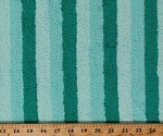 Terry Cloth Teal/Mint Stripe Absorbent 60
