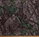 True Timber HTC Camouflage Tree Branches Bark Leaves Woods Brown Green 60