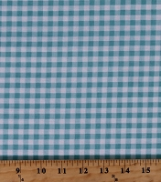 Cotton Aqua Medium 1/4