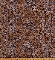 Rayon Challis Leopard Print Jungle Animal Print 58
