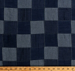 Denim Patchwork Light and Medium Denim 3