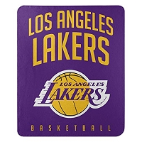 Los Angeles Lakers NBA Basketball Sports Team 50x60 Fleece Fabric Throw (D325.33)