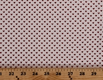 Cotton Hearts Valentines Cream Red Hello Sweetheart Love Cotton Fabric Print by the Yard (C7624-CREAM)