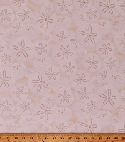 Cotton Sand Dollars Sea Shells Seashells Beach Ocean Nautical Off-White Cotton Fabric Print by the Yard (BEACH-C5352-CREAM)
