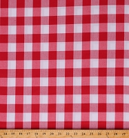 Cotton Checkered Checks Patterned Carolina Gingham 1