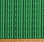 Cotton Watermelon Rind Fruit Food Summer Picnic Green Cotton Fabric Print by the Yard (FRUIT-C1138-GREEN)