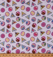 Cotton Girl Scout Badges Cotton Fabric Print by the Yard (C6771)