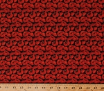 Cotton Red Poppies Poppy Flowers Blooms Floral Spring Garden Gardening Allover Landscape Prairie Lane Cotton Fabric Print by the Yard (9519-88)