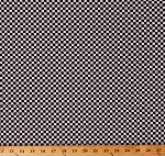 Cotton Racing Checks Quarter Inch Checkered Blocks Squares Start Your Engines Sports Transportation Cotton Fabric Print by the Yard (1751-99)