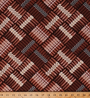 Cotton Brown Cigars in Rows Tobacco Cuban Cigar Western Southwest Smoking Cotton Fabric Print by the Yard (CIGAR-6314)