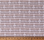 Cotton Eggs Egg Cartons Dozens Farmhouse Food Kitchen Baking Kiss the Cook White Cotton Fabric Print by the Yard (AMKD-19299-86EGGSHELL)