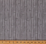 Cotton Wood Slats Wooden Planks Floorboards Tiles Bricks Farmhouse Pebble Gray Explore Deb Strain Cotton Fabric Print by the Yard (19918-13)