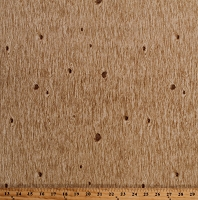 Cotton Wood Grain Boards Paneling Landscape Lumber Pinewood Acres Cotton Fabric Print by the Yard (C7755)