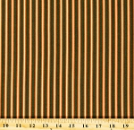 Cotton Stripes Striped Lines Orange Cream Green Jo Morton From Lucinda's Window Civil War Reproduction Historical Vintage Cotton Fabric Print by the Yard (p0260-3957-g)