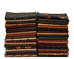 10 Fat Quarters - Moda Kansas Troubles - Assorted Calico Floral Flowers Classic Quality Quilters Cotton Fabrics M228.05