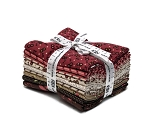 Fat Quarter Bundle Sweet Charlotte Darlene Zimmerman Floral Geometric Polka Dot Pink Brown Cream 9 Fat Quarters (FQ-1293-9) M203.03