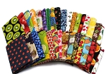 10 Fat Quarters - Fruit Citrus Fruity Food Cooking Kitchen Orchard Apples Cherries Pears Strawberries Blueberries Berries Melons Fabrics Quality Quilters Cotton Assorted Fat Quarter Bundle M224.01