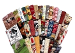 10 Assorted Fat Quarters - Farm Farming Country Homestead Farmer Hobby Farms Ranch Orchard Farmhouse Animals Quality Quilters Cotton Fabric Bundle M227.07